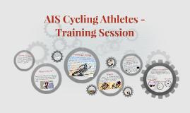 AIS athletes Cycling