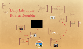 Daily Life in the Roman Republic