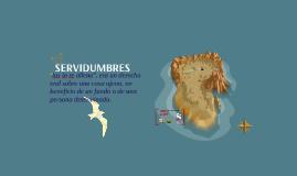 SERVIDUMBRES