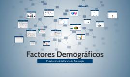 Factores Demograficos