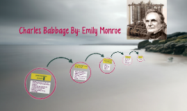 Charles Babbage By: Emily Monroe
