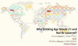 Copy of Copy of Why Drinking Age Should 21 and Not Be Lowered?