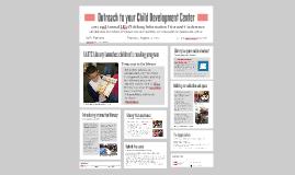 Outreach to your Child Development Center