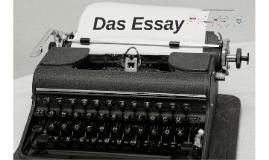 Wie schreibe ich ein Essay?