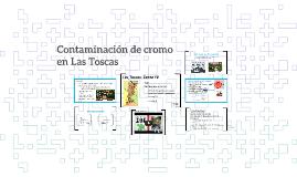 Contaminación de cromo en Las Toscas