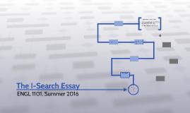 The I-Search Essay