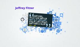 Copy of Jeffrey Fitzer's Prezume