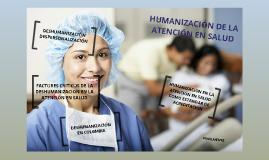 Copy of HUMANIZACIÓN DE LOS SERVICIOS DE SALUD