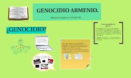 GENOCIDIO ARMENIO.