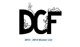 DCF 2013-2014