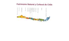 Patrimonio Natural y cultural de Chile