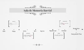 Sala de Memoria Barrial
