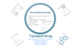 Topological Entropy