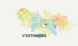 L'Autonomie (sec2)