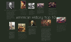 American history top 10