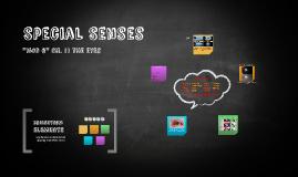 Mod 6: Special Senses Part 1