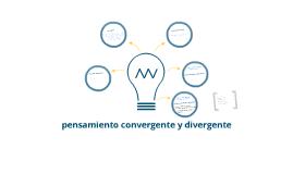 Divergente y convergente