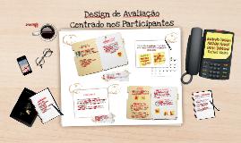 Design de Avaliação - Participantes