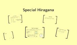 Special Hiragana