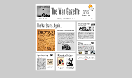 The World War Gazette