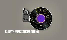KUNSTNERISK STUDIERETNING