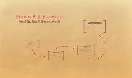 Copy of Puntos 8, 9,y anexos.