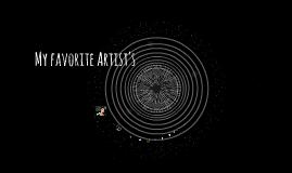 My favorite Artist's