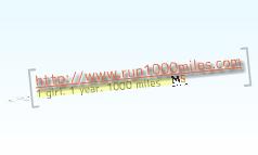 Run 1000 miles