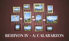 REHIYON IV - A: CALABARZON