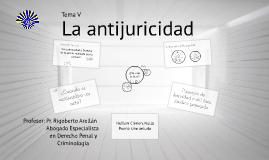 Copy of La antijuricidad