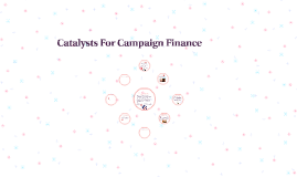 Catalysts For Campaign Finance