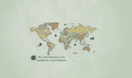 Migration im 18.Jahrhundert