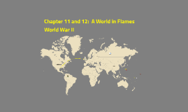 Chapter 11 and 12:  America in WWII