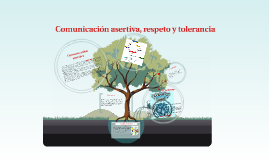 Comunicación asertiva, respeto y tolernancia