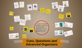 Cues, Questions and Advanced Organizers