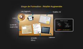 Stage Realite augmentee