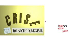 DO ANTIGO REGIME