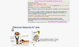 Copy of Programa Ciências Naturais 9.ºano