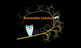 Excreción Celular