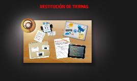 RESTITUCION DE TIERRAS