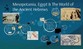 The World of the Hebrews