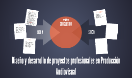 Diseño y desarrollo de proyectos profesionales en Producción
