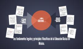 Los fundamentos legales y principios filosóficos de la Educa