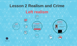 Lesson 2 Realism and Crime