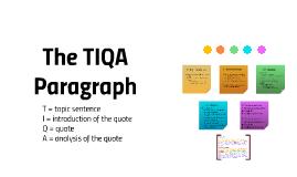 Copy of The TIQA Paragraph