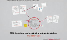 EU integration: addressing the young generation