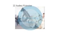22 Andrea Valentine