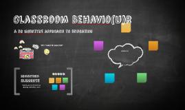 Classroom Behavi(u)r