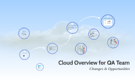 Cloud Overview for QA Team