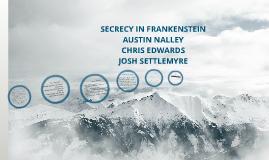 Copy of SECRECY IN FRANKENSTEIN